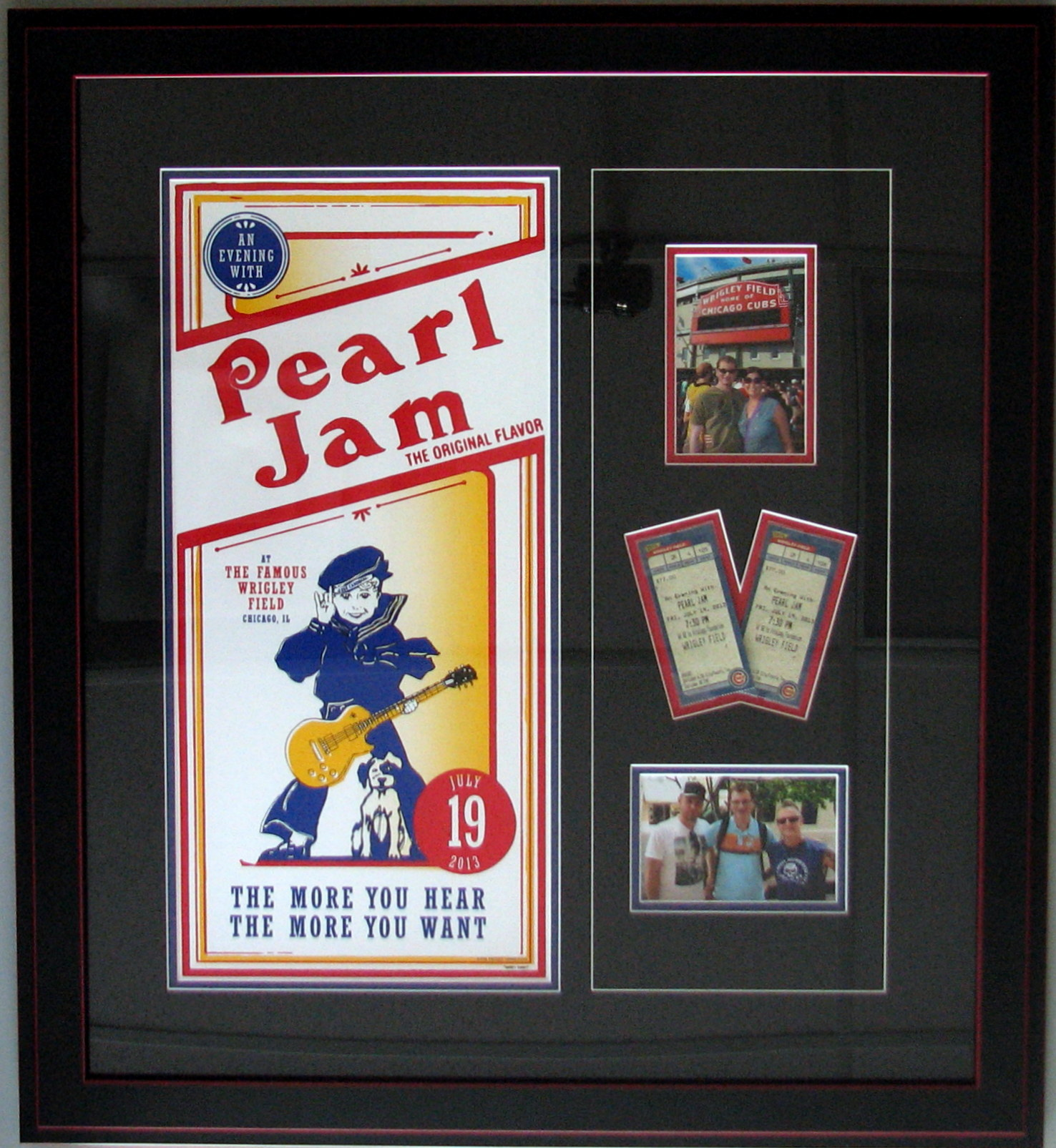 Custom Poster Frame Farmington, MN - by Tamis Fastfrrame Frame Shop ...