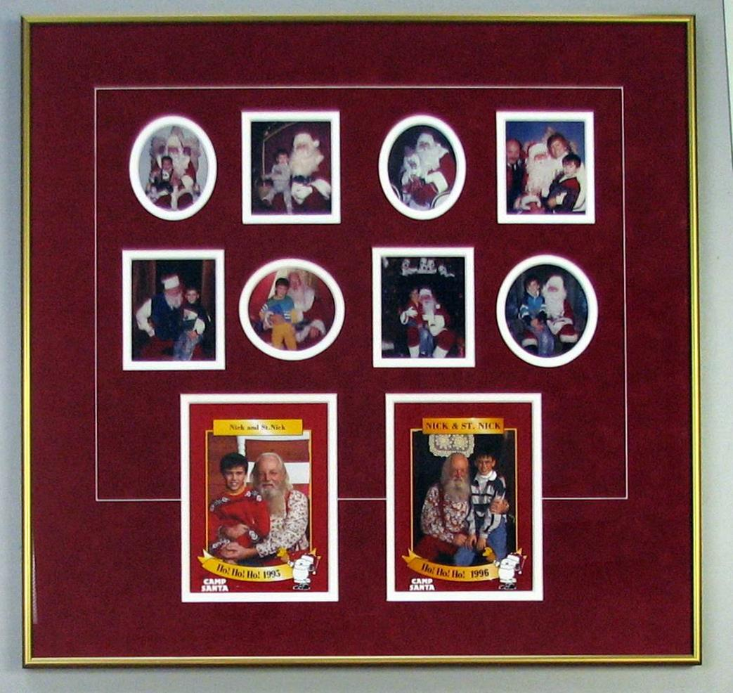Holiday Framing Ideas - by Tamis Fastfrrame Frame Shop and Custom ...