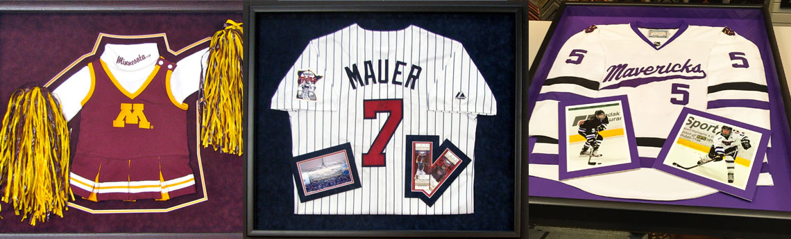 Custom Jersey Framing