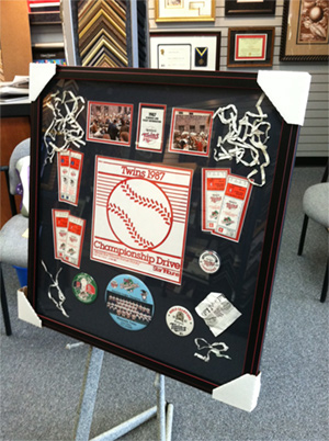 Custom Sports Framing