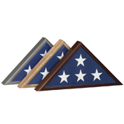 Eagan, MN Wooden Flag Holder