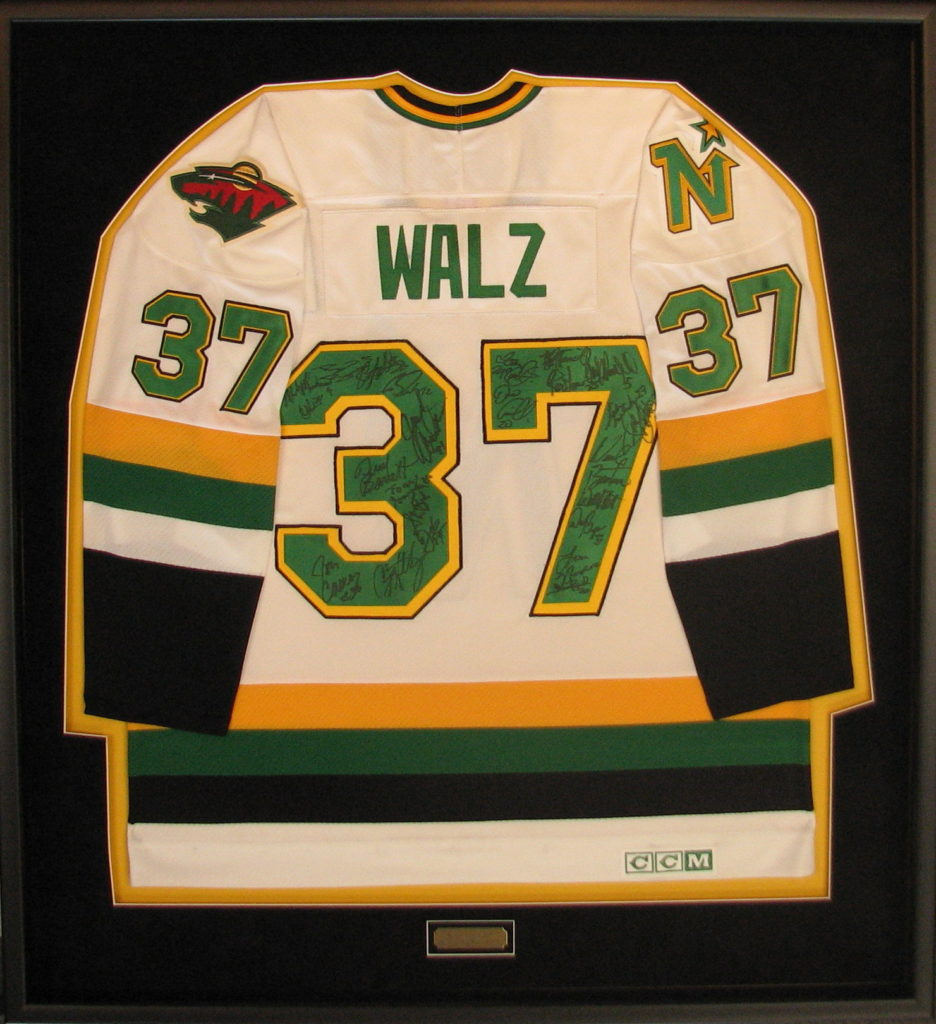 Custom Frame for Wes Walz Outdoor Classign Signed Jersey